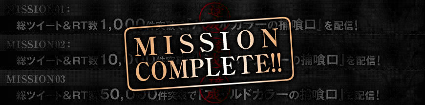 MISSION COMPLETE!!